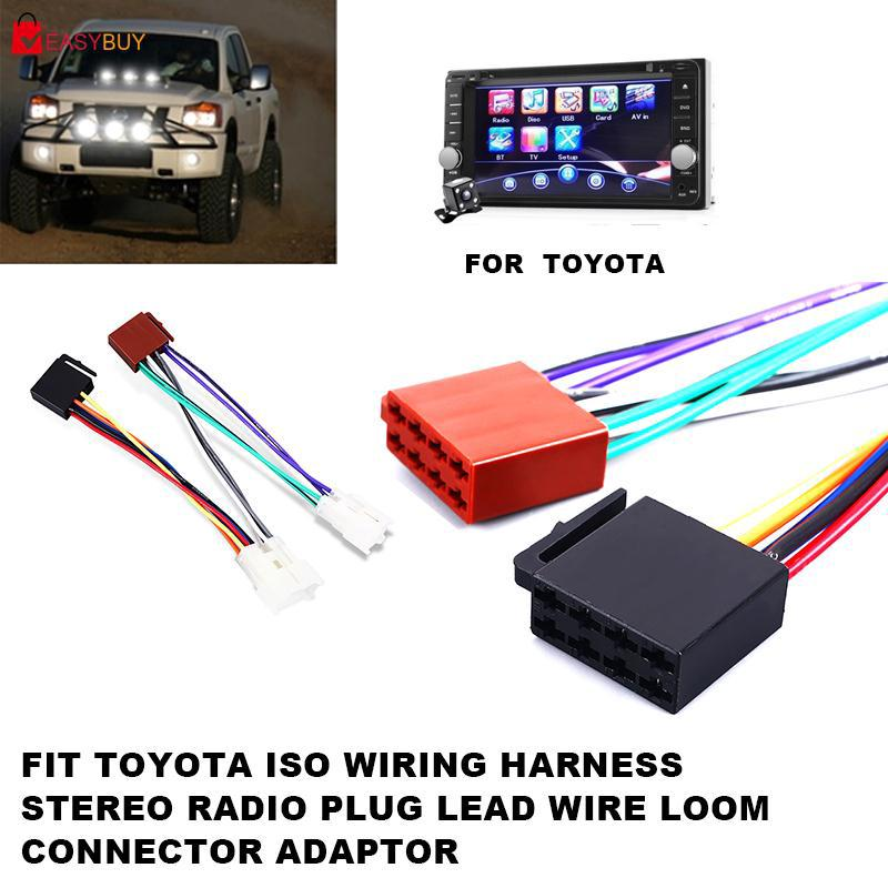 Eas Wiring Harness Toyota Connector Adaptor Line Audio