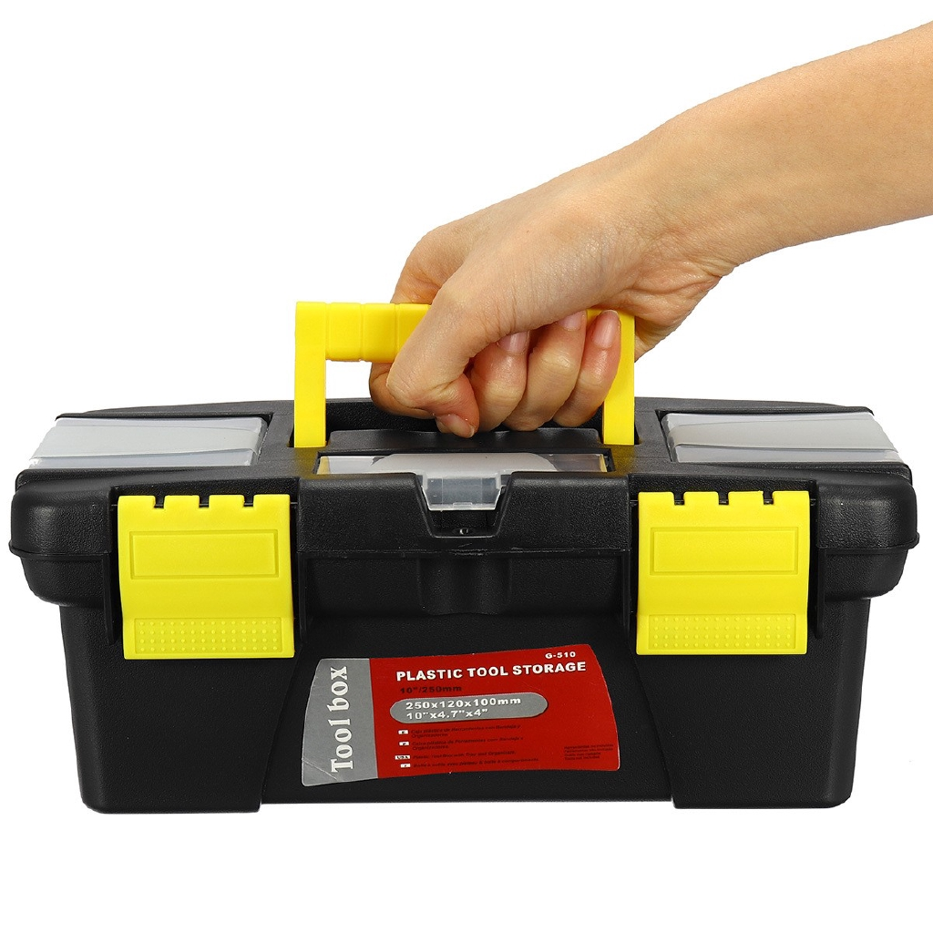 Small Portable Plastic Hardware Tool Box Storage Shopee Philippines