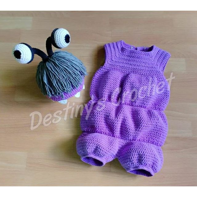 Crochet Boo Of Monster Inc Costume Shopee Philippines