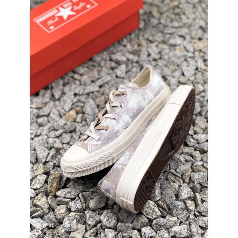 selling!!! Converse Low-Cut Ox new tie-dyed canvas low-top casual shoes