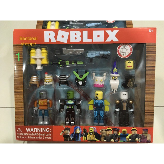 TOYS Roblox (robot riot, Citizens and champions)