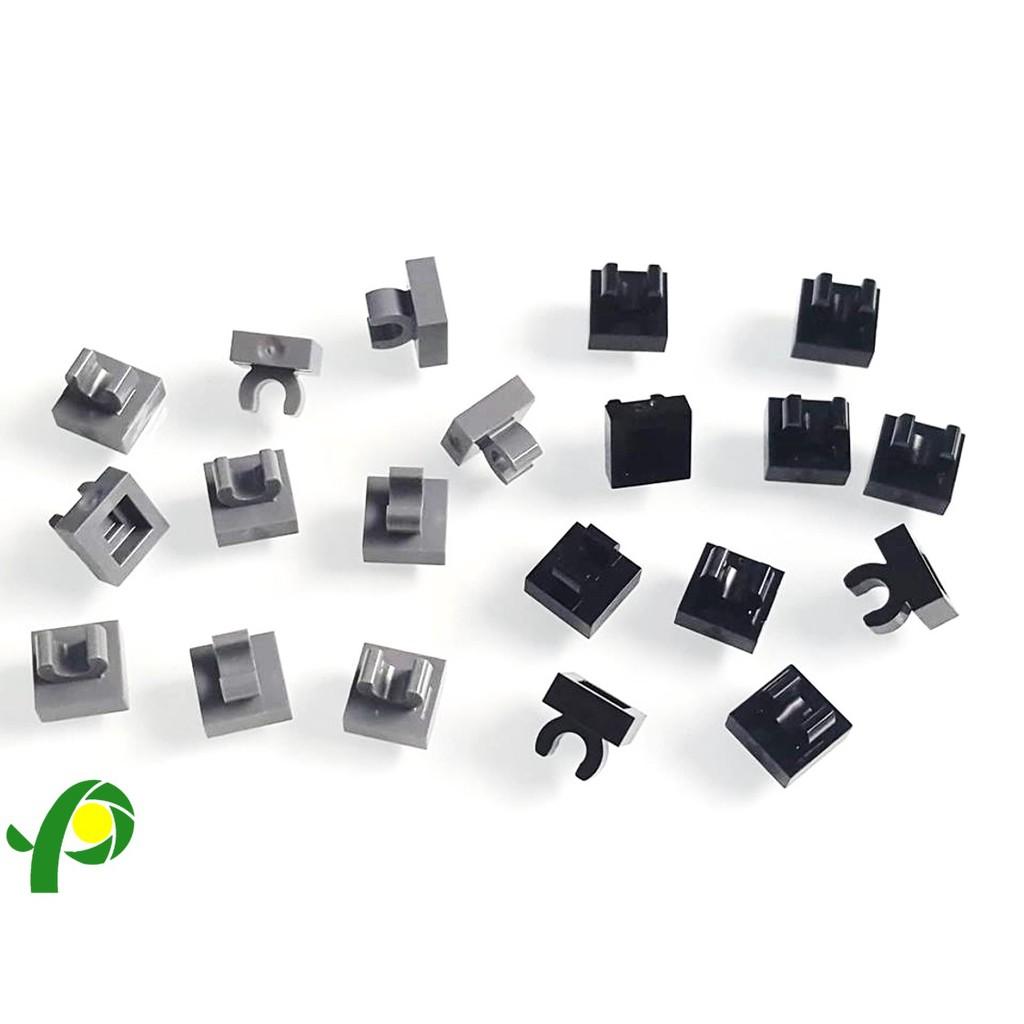 New LEGO Lot of 4 White 1x1 Tiles