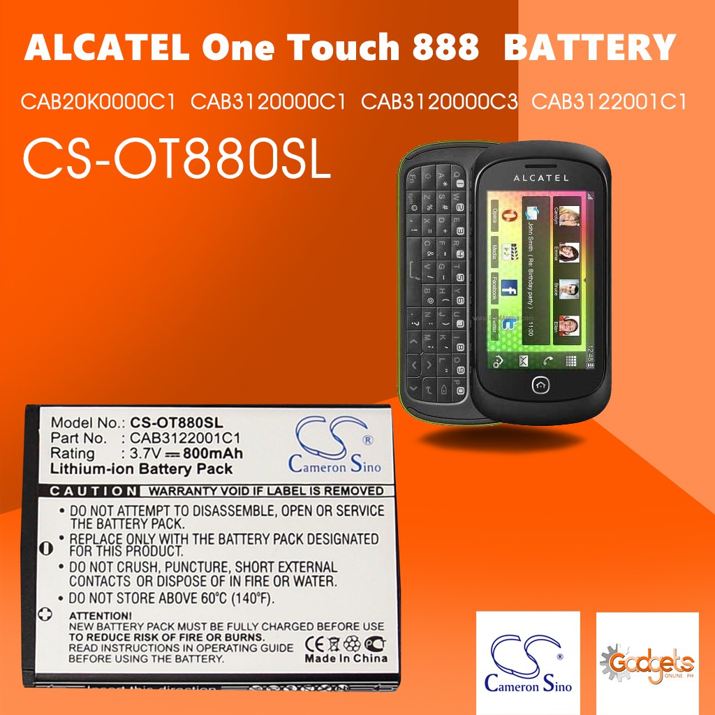 Alcatel one touch 888a manual