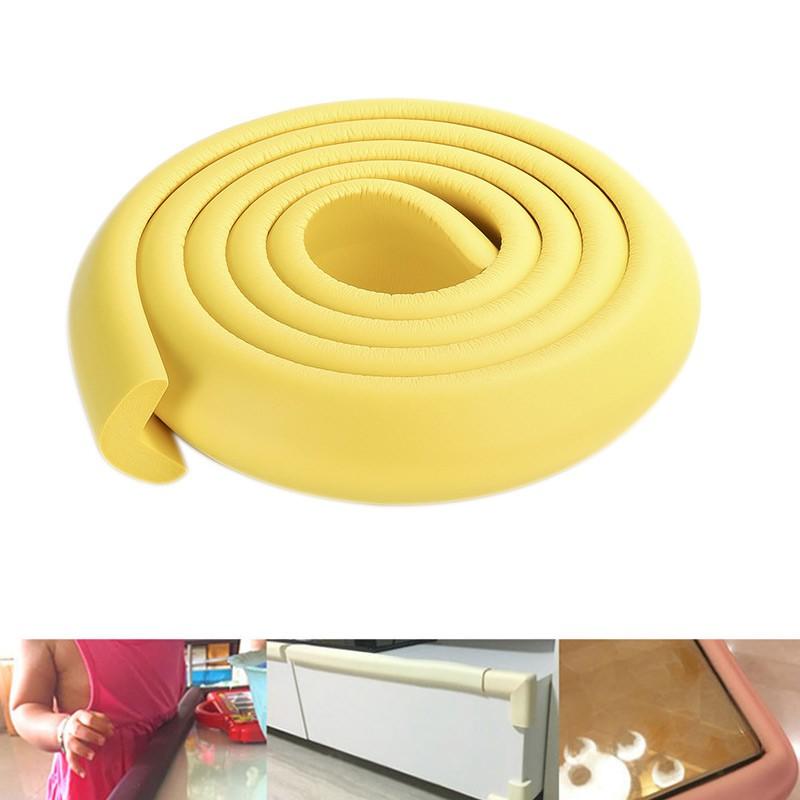 2m Baby Safety Desk Corner Edge Guard Strip Foam Bumper Protector