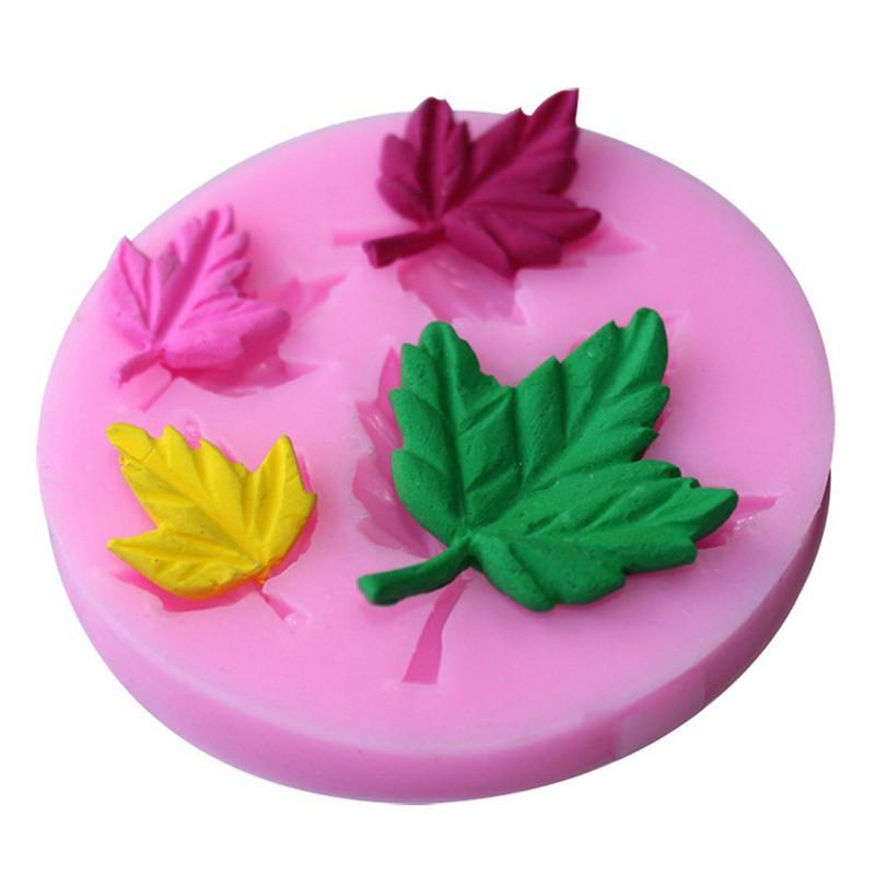 Mapple Leaf Silicone Fondant Mold Sugar Craft Cake Decorating Mould