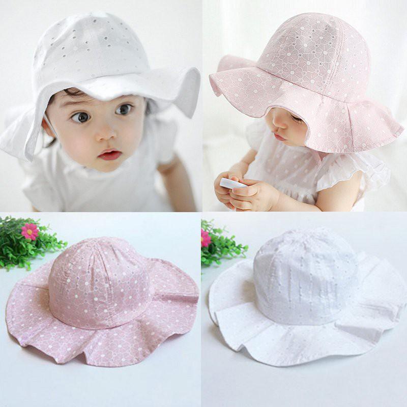 8cbcdc0fd64 Summer Girls Boys Straw Hats Sun Hat Lovely Solid Floppy Cat Ears Decor Cap