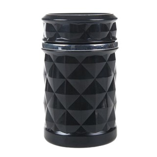 Top Car Ashtray with RGB LED Light Interior Smoke Cup Ambient Light Trash Can