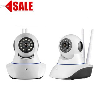 Smart HD 1080P Night Vision IP Camera with 2 antenna (V380