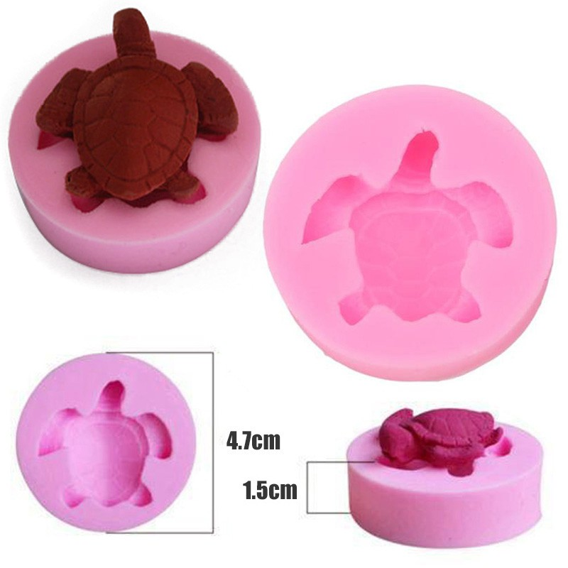 Stainless Steel Tortoise Cookies Cutter Baking Mould Biscuit Mould Sugar New