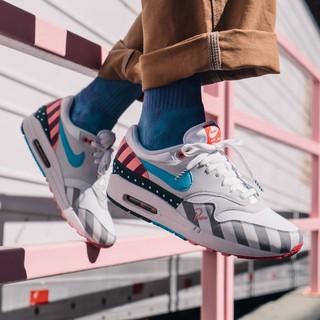 2018 Piet Parra x Nike Air Max 1 WhiteMulti Color AT3057 100 For Sale