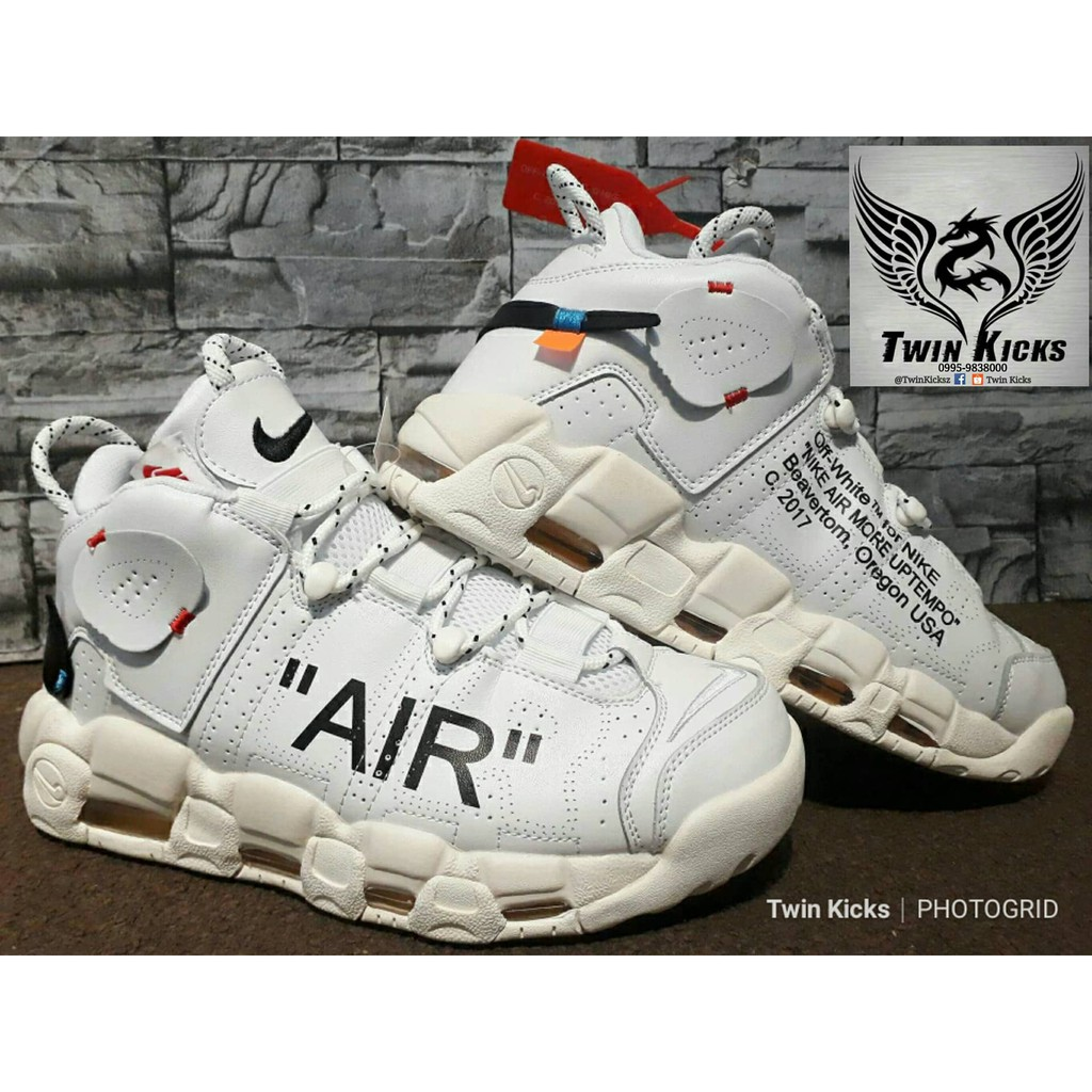 5e62c710a1 Air x Nike Air More Uptempo 'Off-White' | Shopee Philippines