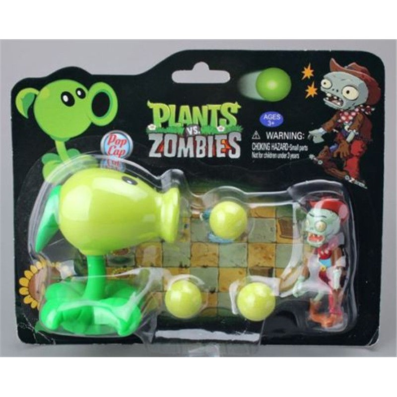 Plants vs Zombies Peashooter ABS Shooting Bullets PVZ Toy
