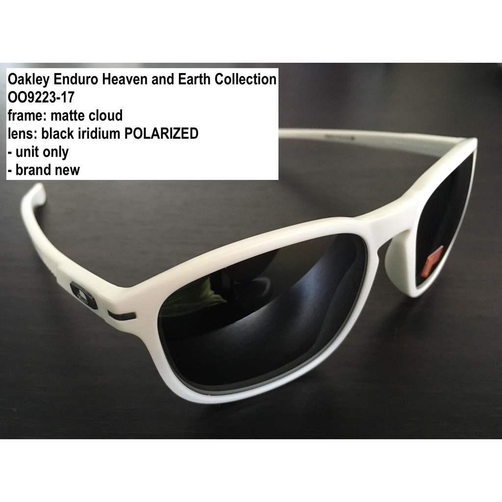 493e6aa5ab Authentic Oakley Enduro Heaven and Earth Collection cloud