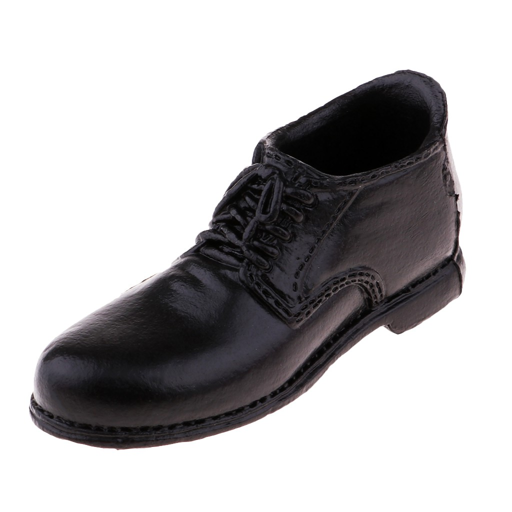 """1//6 Scale Men/'s Brown Leather Shoes Boots Fit For 12/"""" Male Figure Body Model"""
