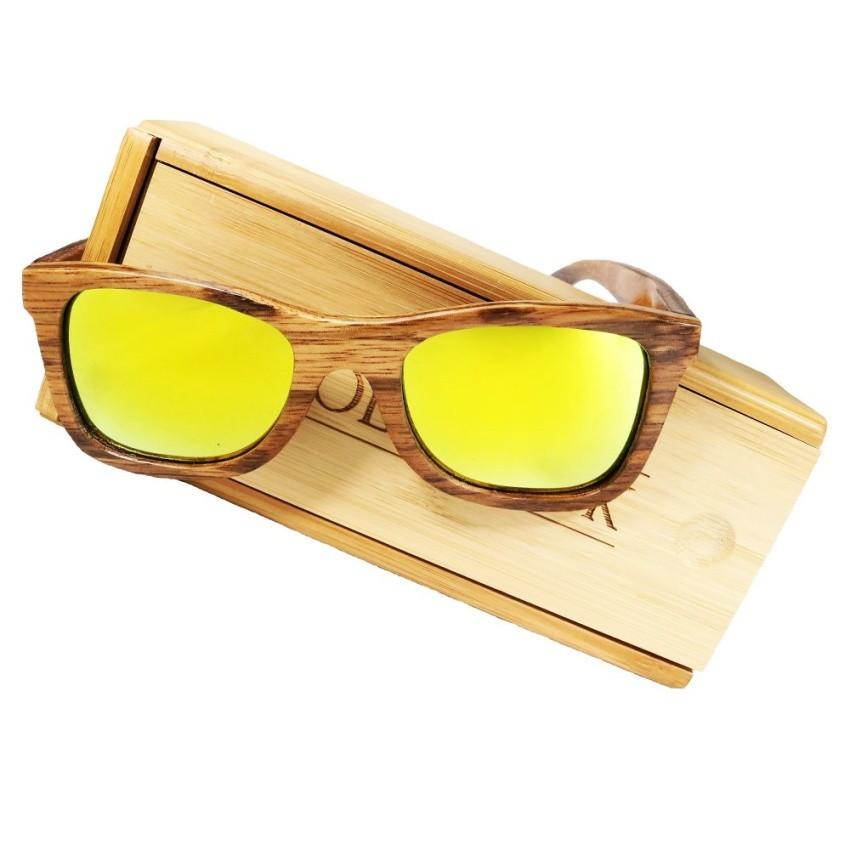 c6ff01de86 Woodchuck Black Walnut Frame Classic Grey Lens 145mm Wooden Sunglasses ( Brown)