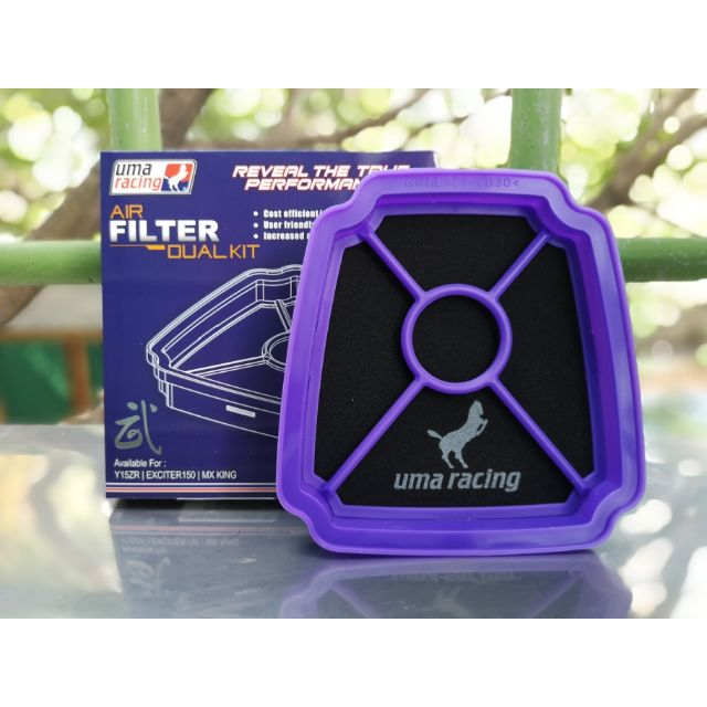 ✅ UMA RACING AIR FILTER /CLEANER ASSY SNIPER KING WASHABLE