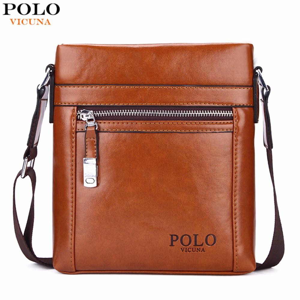 6792c5a22d91 Vicuna Polo Vertical Zipper Retro Body Bag Khaki