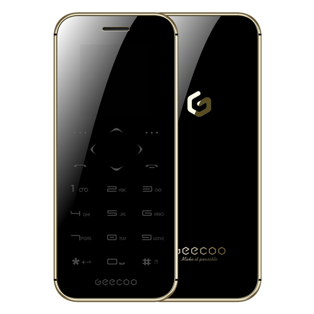 GEECOO MINI 1 Touch-Button Double Sided Mirror Feature Phone