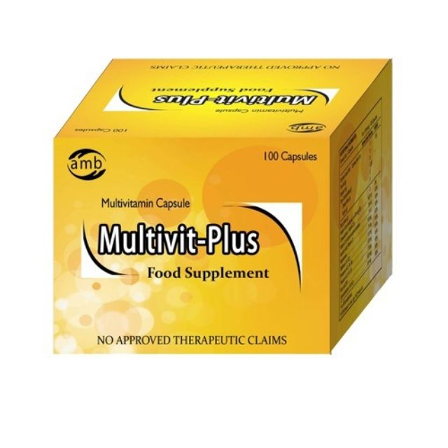 Multivit-Plus Multivitamin 100 capsules | Shopee Philippines