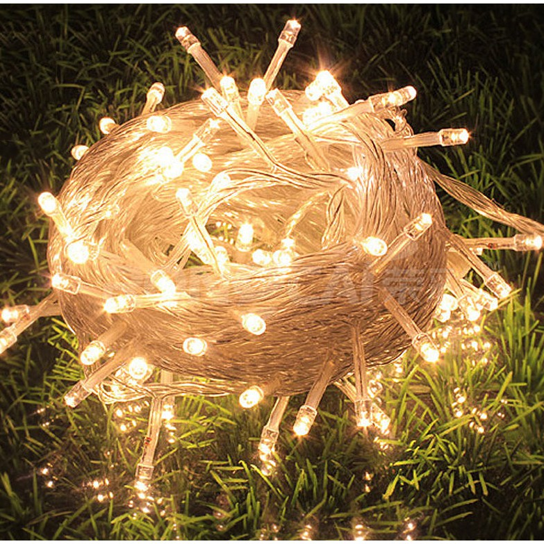 Christmas Lights At Reject Shop: 100 LED 10M String Christmas Lights (WARM WHITE) COD