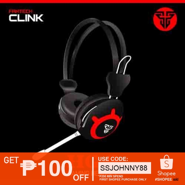 FANTECH CLINK HG2 WIRED NOISE CANCELING GAMING HEADPHONE