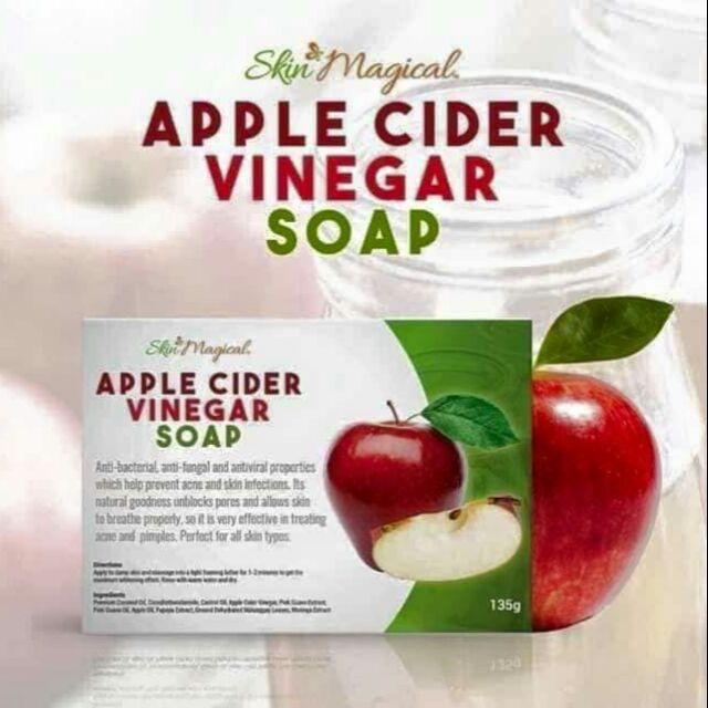 Apple cider vinegar soap