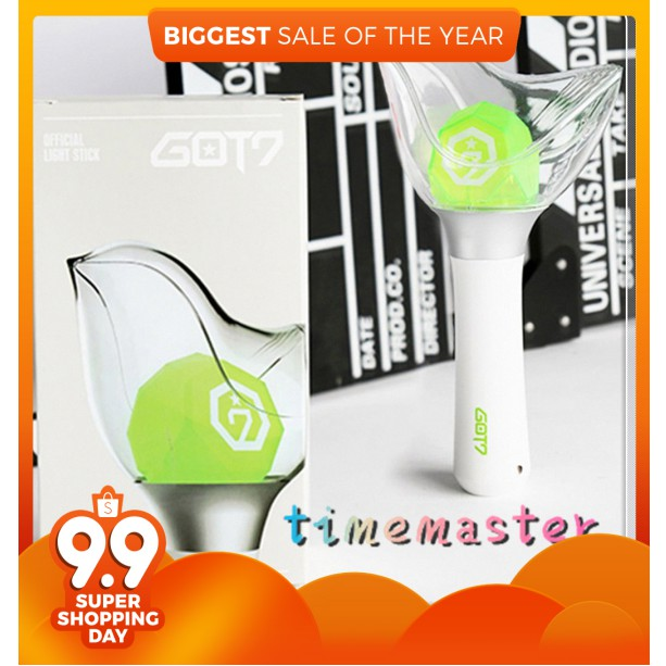 Professional Sale Led Kpop Got7 Stick Lamp Concert Lamp Hiphop Lightstick Night Light Light-up Toys Kid Gift Fans Collection Led Lamps Lights & Lighting