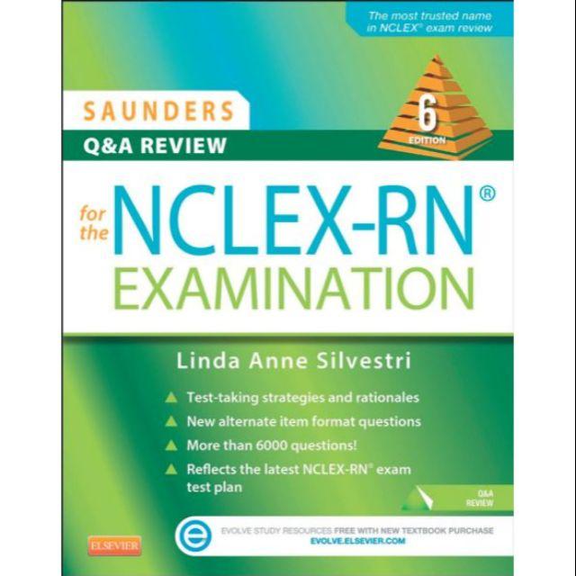 Saunders NCLEX RN Q&A REVIEW