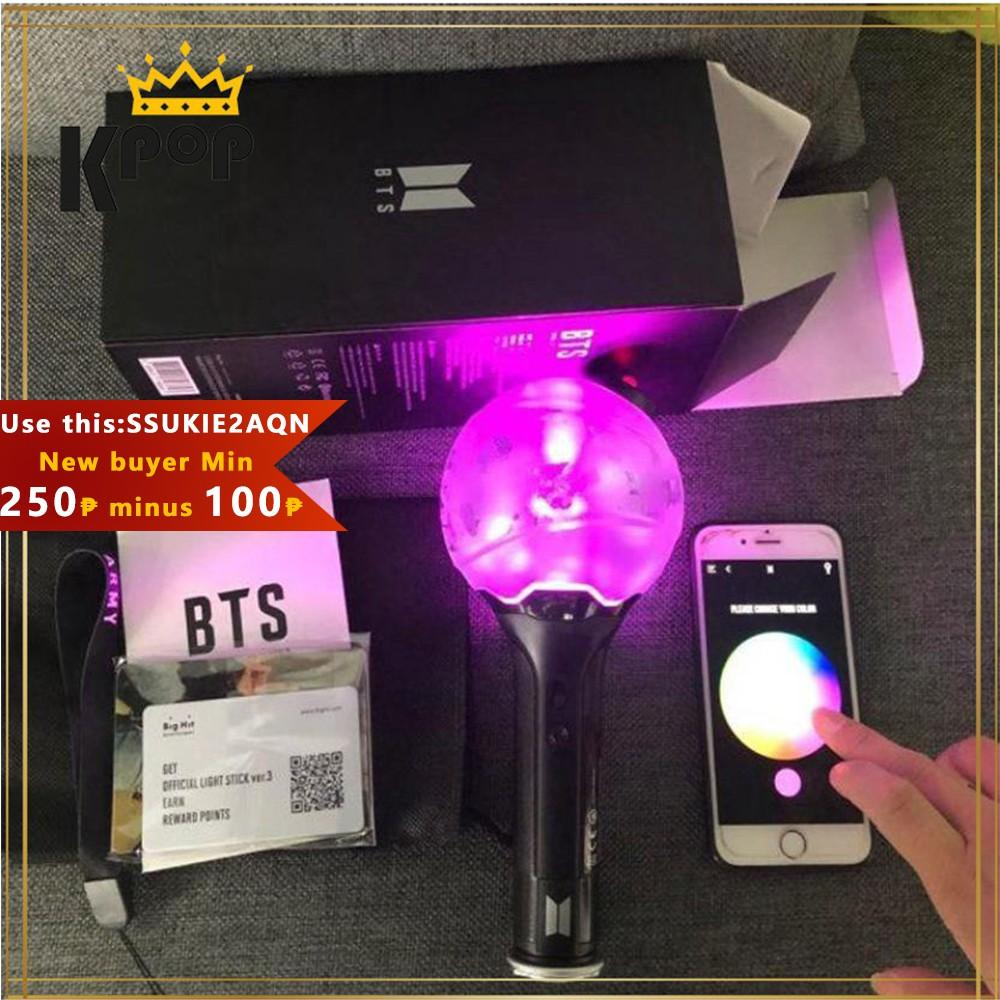 Kpop Bts Version 3 Bluetooth Control Army Bomb Ver 3