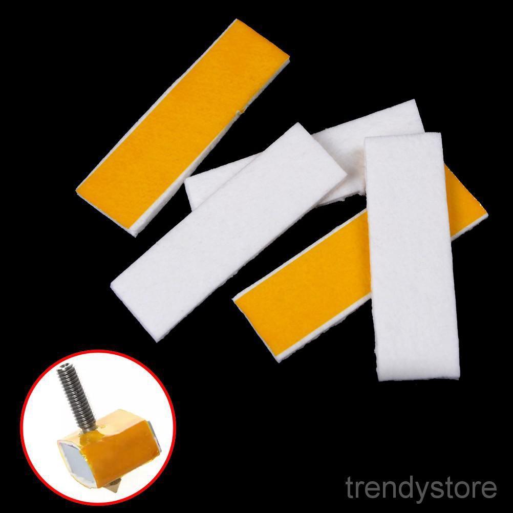 5PCS 3mm thick 3d printer heating block cotton hotend nozzle heat insulation