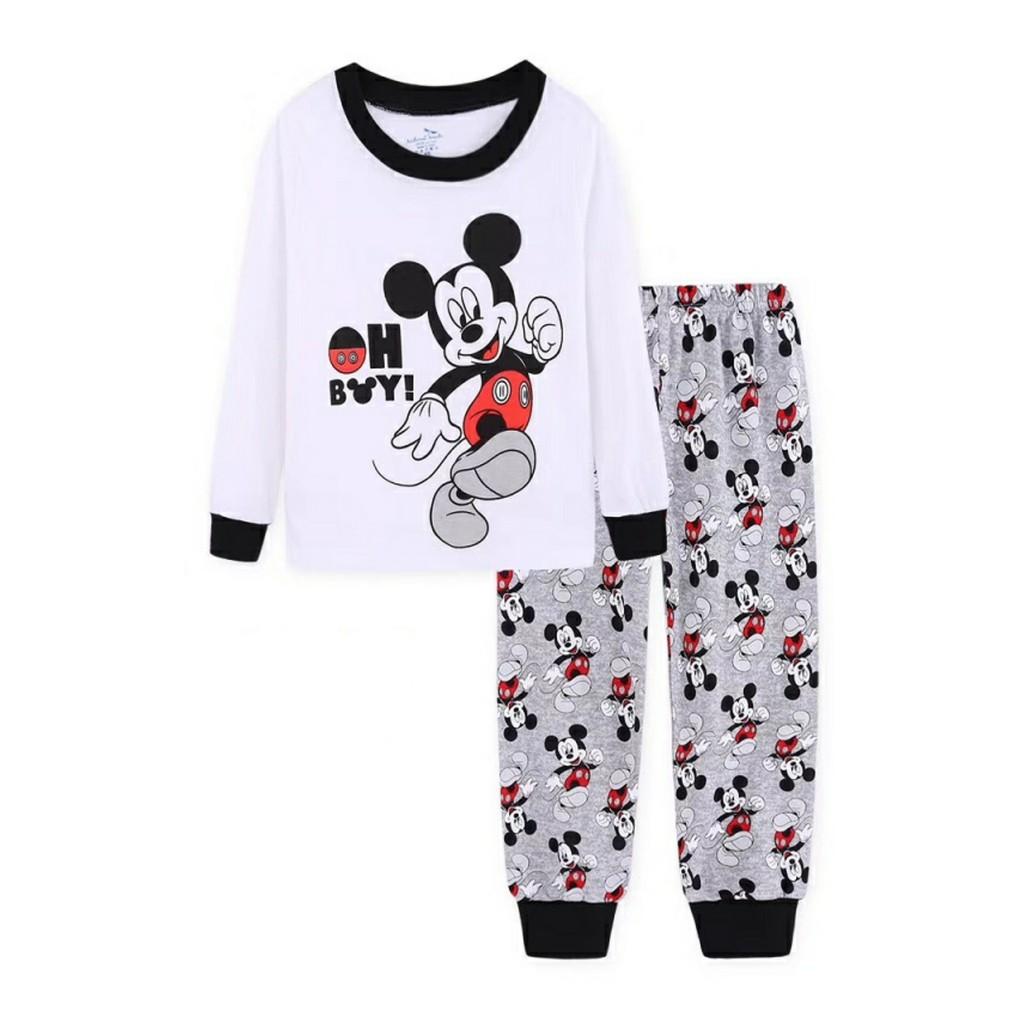 Mickey Mouse Baby-Boys Long Pajamas