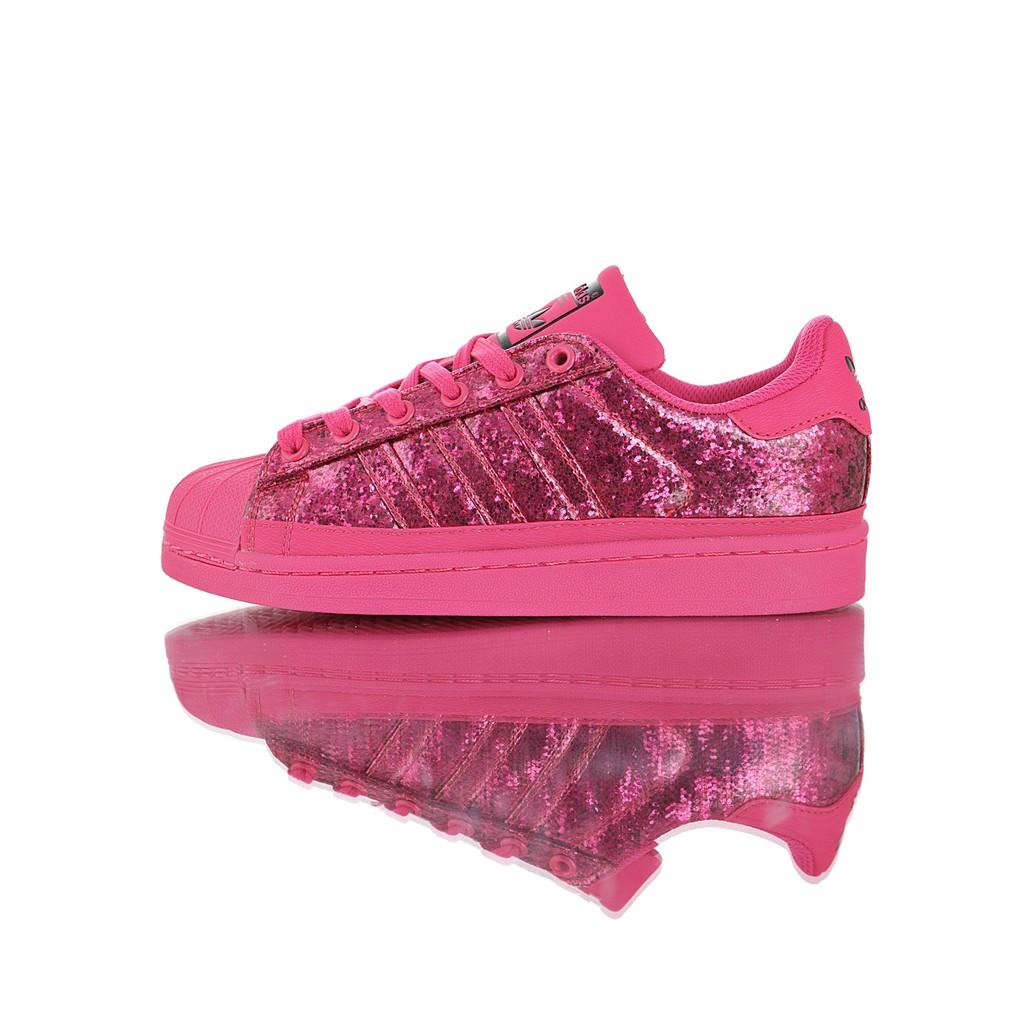 Desmantelar Kenia Los invitados  adidas Superstar Shock Pink W 36-39 | Shopee Philippines