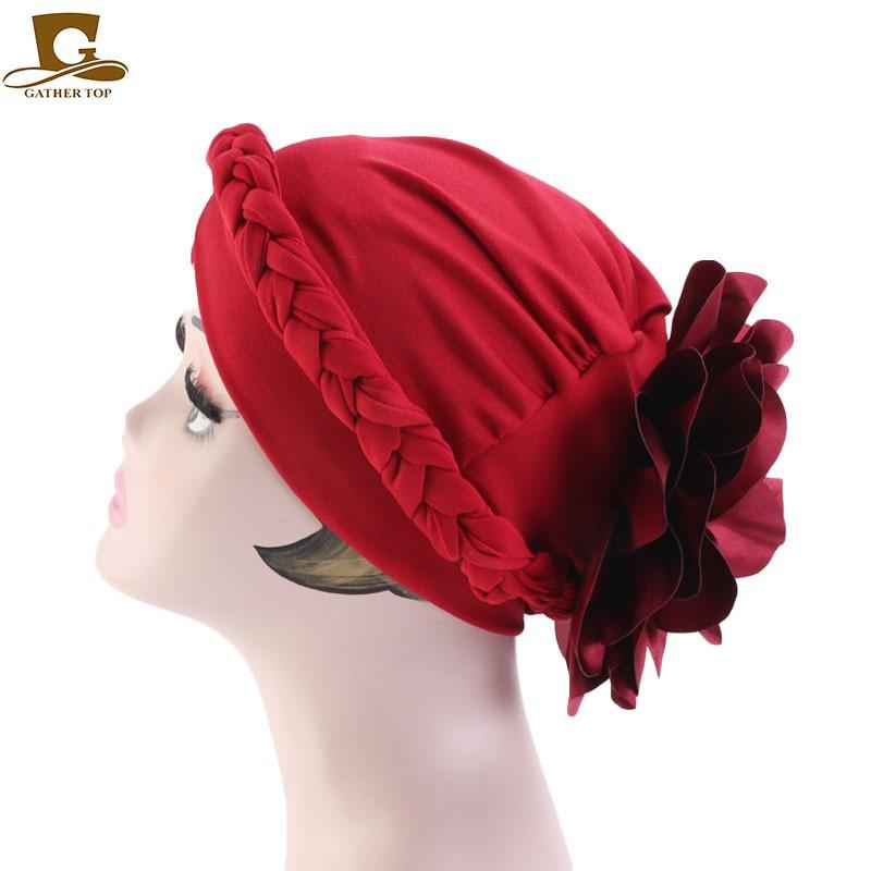 Women Hair Loss Head Scarf Turban Cap Velvet Cancer Chemo Hat Cover