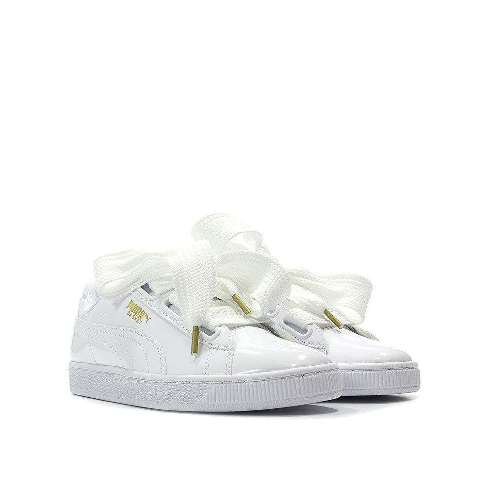 6adc015a5e3 PUMA BASKET HEART PATENT LEATHER SNEAKER