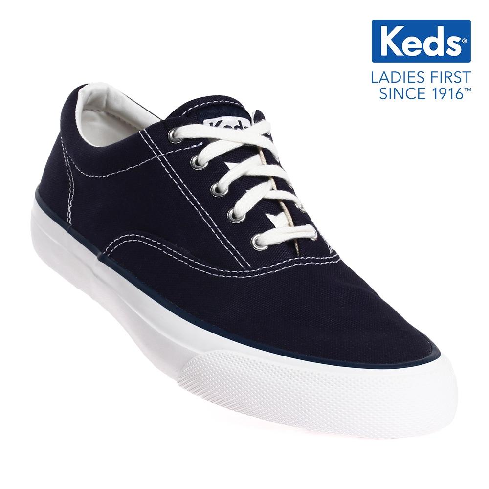 8387f88f5e5b5 Keds Champion Minnie Canvas Lace-up Sneakers (Black) WF55267 ...