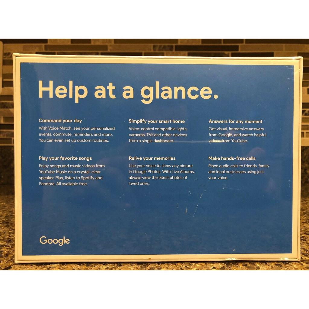 Google Home Hub w/ Google Assistant Chalk - 7