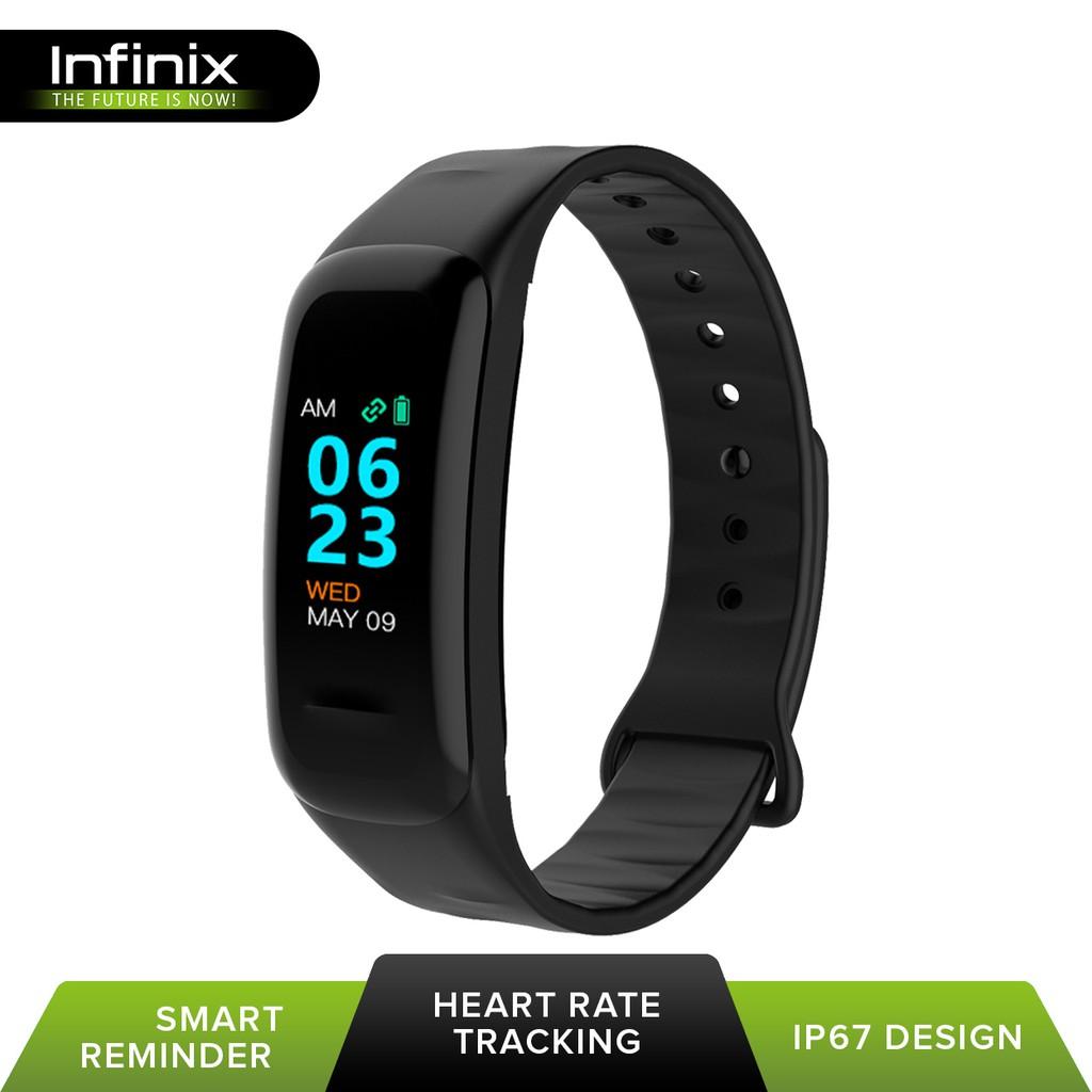 Infinix Genuine XB03 Smart Band Bracelet (Black)