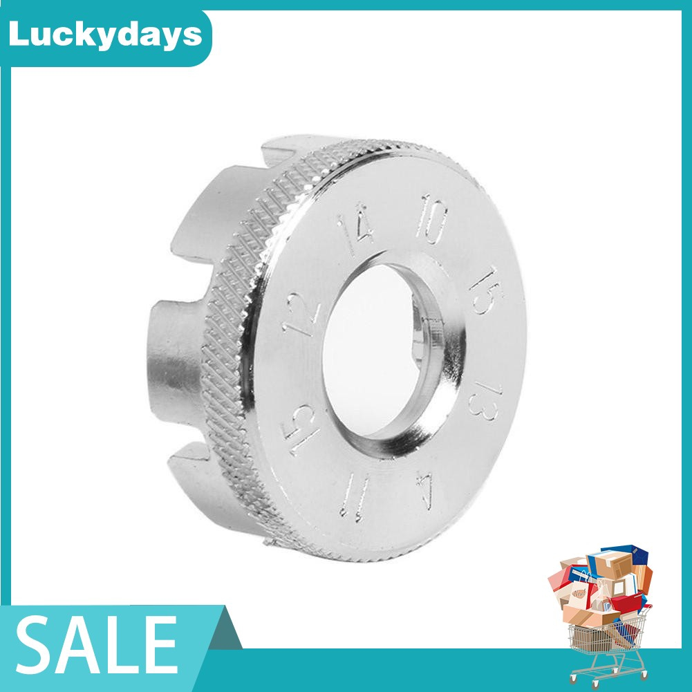 Spoke wrench nipple key bike cycling wheel Rim spanner 6 way bicycle wrench toES