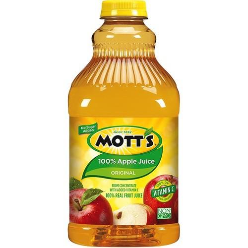 Mott's 100% Apple Juice 2.54L   Shopee