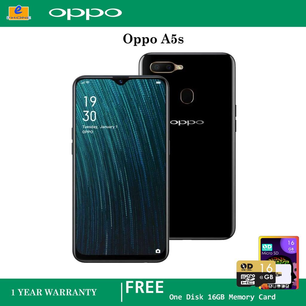 Oppo A5s 32GB+3GB RAM