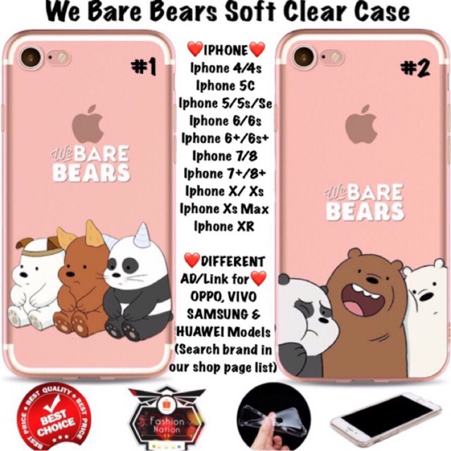 bare iphone 7 case