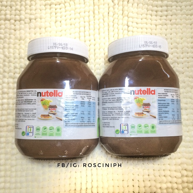 Original Nutella Ferrero 825g | Shopee Philippines