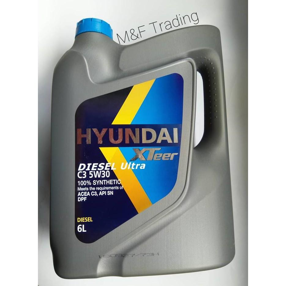 HYUNDAI Xteer Heavy Diesel Ultra C3 (5W-30) 100% Fully Syn