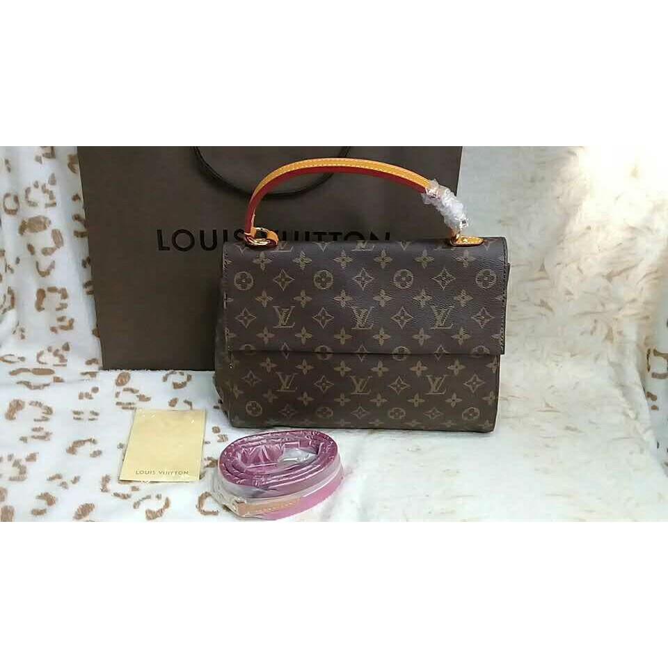 Louis Vuitton Cluny Bb Web Satchel Bag  0a050c49831f3