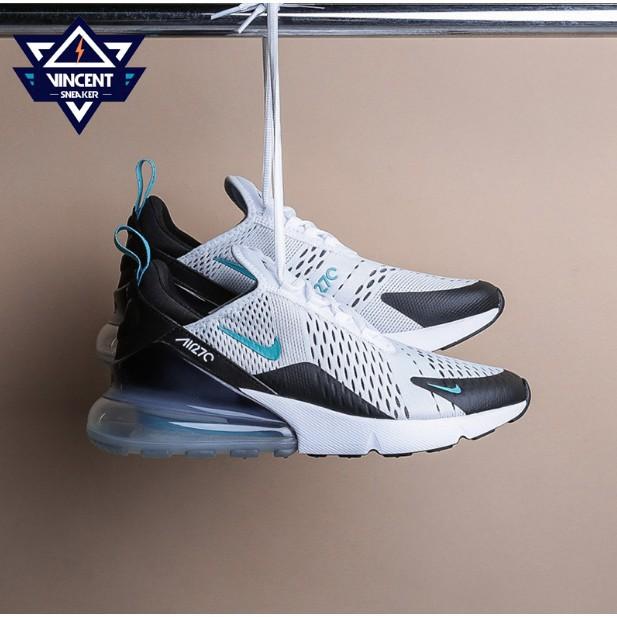 Nike Air Max 270 Colorful blue Men's air cushion breathable running shoes