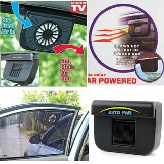 Car Auto Fan Cool Ventilation Solar Car Cooler Fan | Shopee