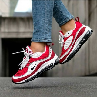 2019 New Nike Airmax 98 Gym Red Shoes
