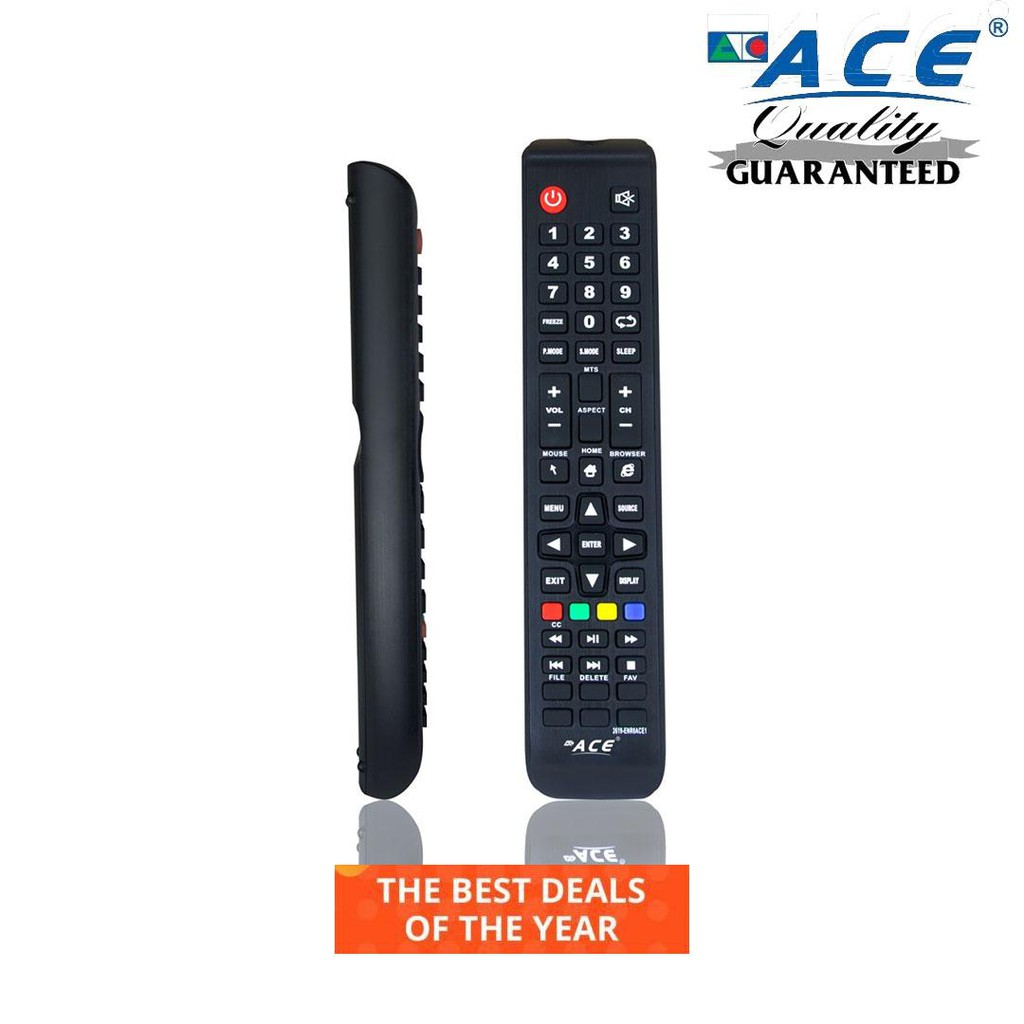 ACE 2619 smart tv remote for 2019 year model