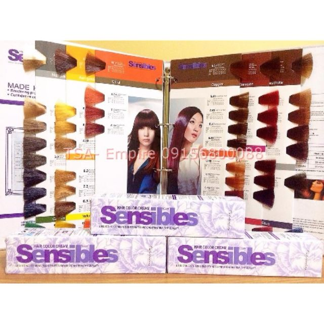 Sensibles Hair Color Cream Shopee Philippines
