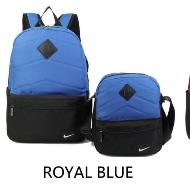 6f175c42b5 🔥  COD Nike 2in1 backpack slingbag school fashion men